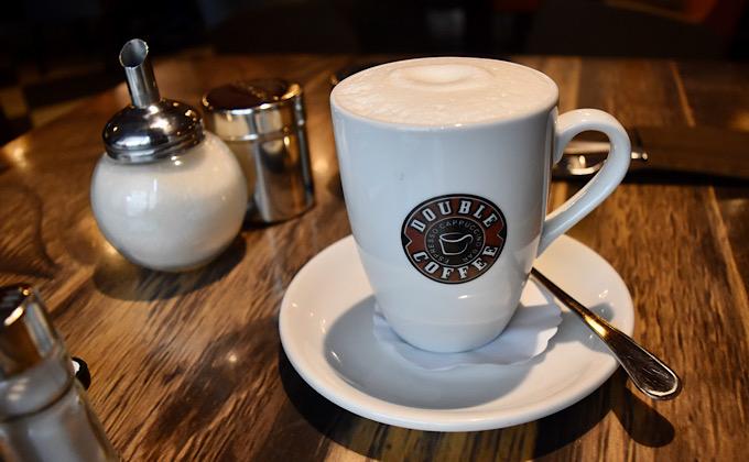 Double coffeeのラテ