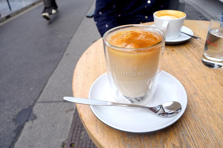 アイスチャイラテ, ウィーン, カフェ